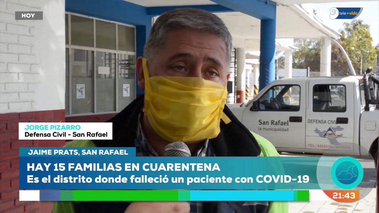 Coronavirus: la ciudad mendocina donde hay 15 familias en cuarentena total