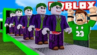 My OWN MANUFACTURE of the JOKER (GUASON) in ROBLOX !!