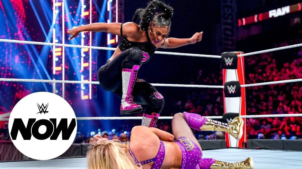 Download Charlotte Flair and Bianca Belair set for title clash: WWE Now, Oct. 18, 2021