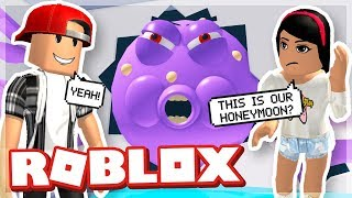 OUR HONEYMOON WAS RUINED! - Escape The Cruise Ship Obby Roblox