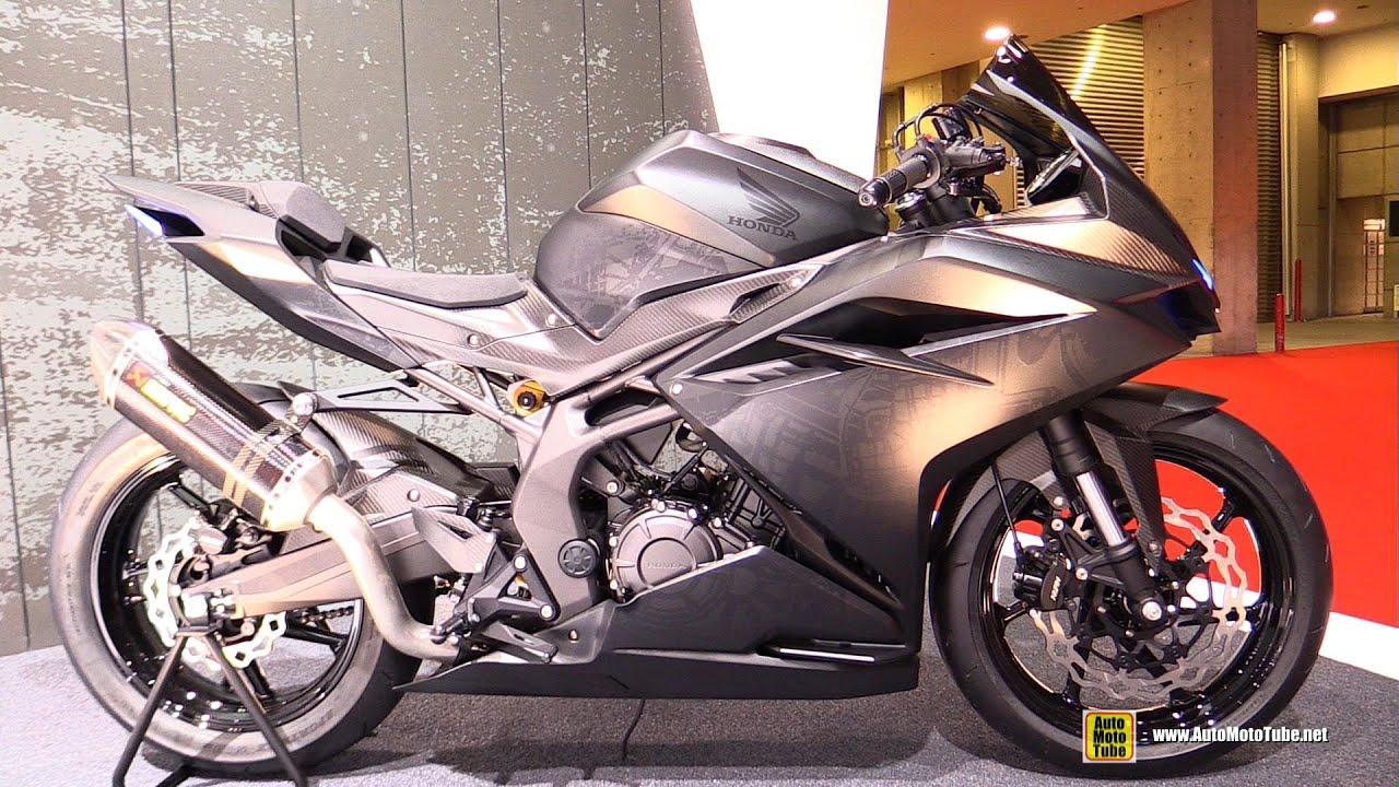 Honda Light Weight Super Sports Concept Bike Walkaround