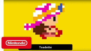 Super Mario Maker - 'Toadette' Gameplay
