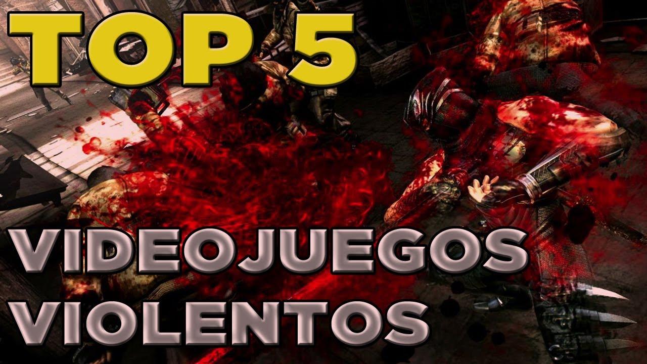 Top 5 Videojuegos Mas Violentos Youtube