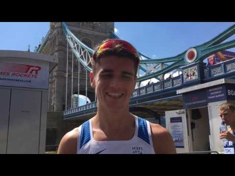 Callum Hawkins on his 4th place run at the World Champs London 2017