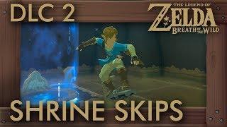 8 AWESOME Shrine Skips in Zelda BotW Champions Ballad (Speedrun Tricks)