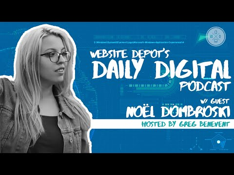 How to Conquer your Fear of Podcasts   Daily Digital #28   feat. Noël Dombroski
