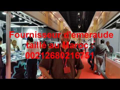 Emeraude, achat et vente d'émeraude au Maroc à Marrakech