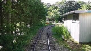 野辺山SLランド SL列車後方展望(20180818)
