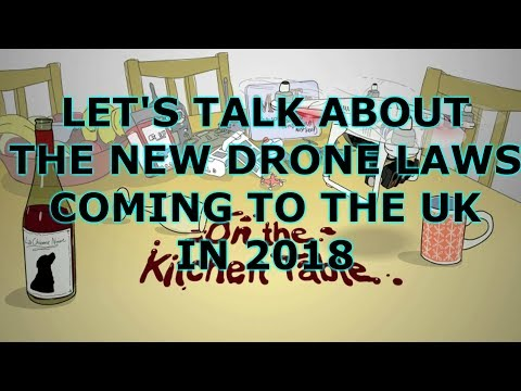 New UK Drone Laws. Barry and Simon discuss proposed drone registration and more