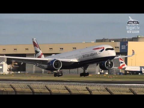 British Airways A350-1000 'G-XWBF' Delivery Flight Into London Heathrow Airport
