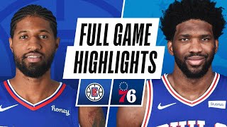 GAME RECAP: 76ers 106, Clippers 103