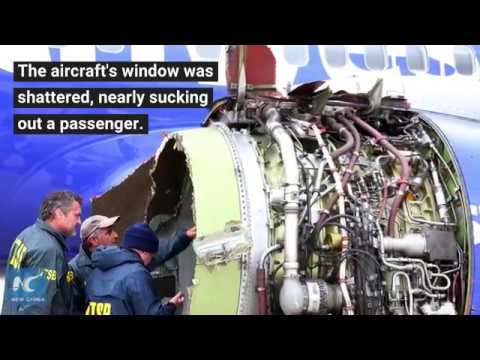 After horrifying Southwest Air fatality, airlines scramble to check engines