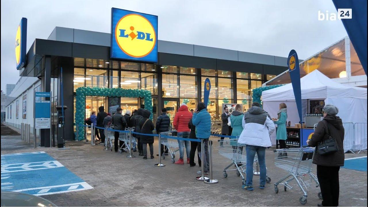 8a62eb65d5772 BIA24 - VIDEO. Mega promocje na otwarcie nowego Lidla w Białymstoku