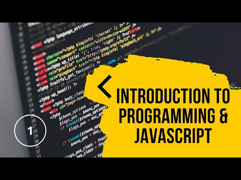 Introduction to Programming with JavaScript   JavaScript Tutorials   Lesson 1 thumbnail