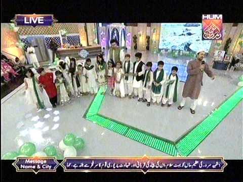 Raheem Shah Singing Maa mujhko jhulao at Noor e Ramazan HUM TV 15 July 2015