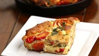 Make-Ahead Egg & Tomato Strata