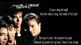 Cutting Crew _ I Just Died In Your Arms Tonight