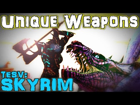TESV: Skyrim - Unique Weapons Guide (Vanilla)