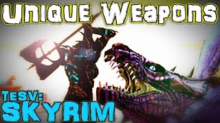 TESV: Skyrim - Unique Weapons Guide (Vanilla)