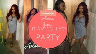 CollegeVlog#4 LIT ASS COLLEGE  PARTY & Meet My Friends