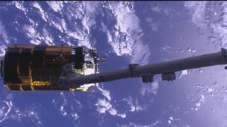 Japanese Cargo Ship Departs the ISS