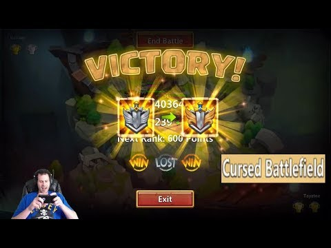 JT's F2P Best Score Ever Thrilling Fights Day 1 Lost Battlefield Castle Clash