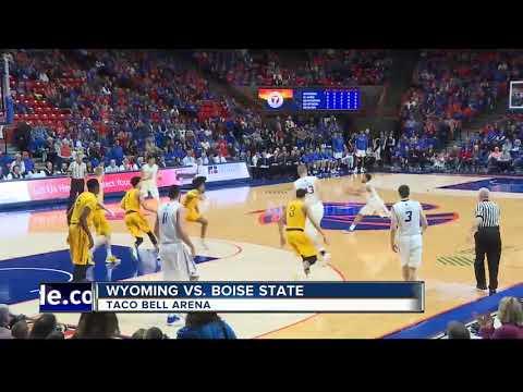Sengfelder scores 24 to help Boise State beat Wyoming 95-87