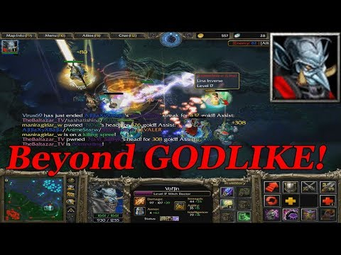 DOTA 1 - Witch Doctor BEYOND GODLIKE | OWNAGE GAMEPLAY