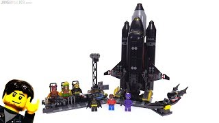 LEGO Batman Movie: The Bat-Space Shuttle reviewed! 70923