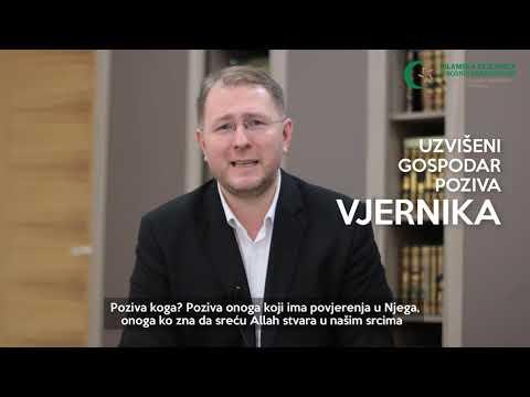 Poziv vjernicima (2) - Post - doc. dr. hafiz Kenan Musić