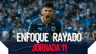 ¡Nuevo Triunfo de local! Y el Enfoque Rayado te trae las mejores imágenes de cerca  del partido de la Jornada 11.