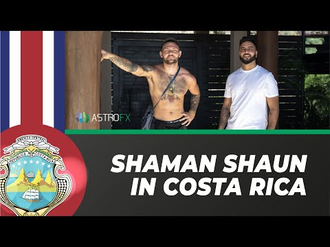 Finding Shaman Shaun of Forex in Costa Rica - AstroFX Travel Vlog