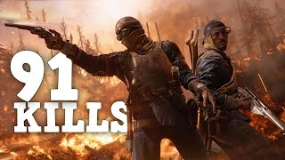 THE BIGGEST TRENCH RAIDING STREAKS - Battlefield 1 Multiplayer Gameplay