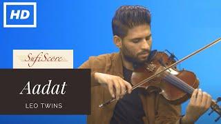Aadat | Leo Twins (Violin Cover song)
