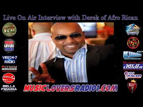 DJ RACER INTERVIEW WITH DERRICK OF AFRO RICAN - 09-27-19