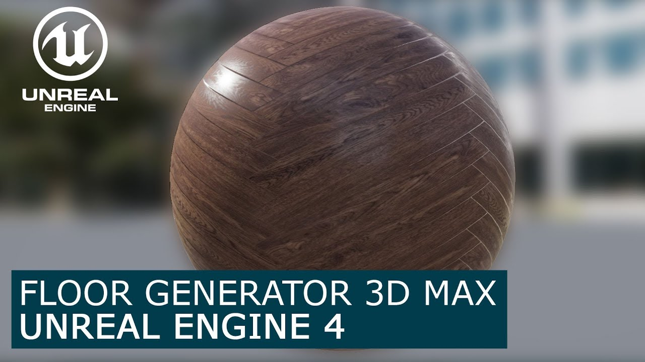 Floor Generator to Unreal Engine 4 - Evermotion