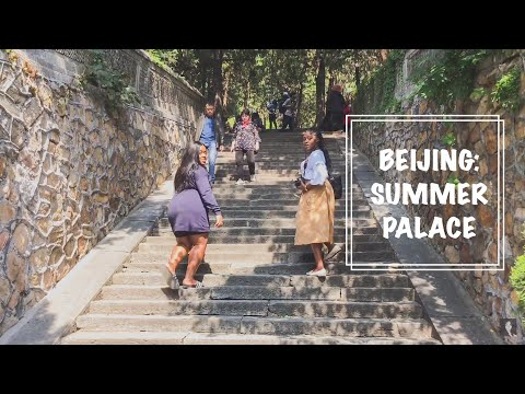 Black family in China - BEIJING PART II - Summer Palace During China's National Holiday! 国庆节