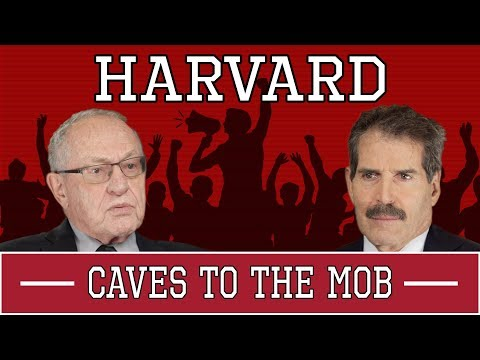 Harvard Caves To Student Mob