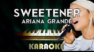 Baixar Sweetener - Ariana Grande | LOWER Key Piano Karaoke Version Instrumental Lyrics Cover