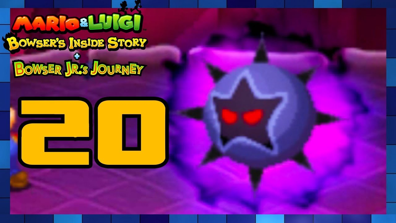 Mario Luigi Bowser S Inside Story 3ds Walkthrough Part 20 Dark Star Boss Battle