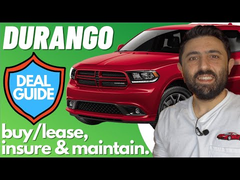 How to get a Better Dodge Durango Deal (Invoice Price, Lease, Maintenance, and Insurance)