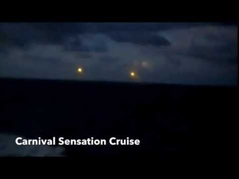 UFO Caught On Camera In The Bermuda Triangle During A Cruise