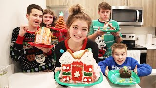 Gingerbread House Challenge With A Twist!