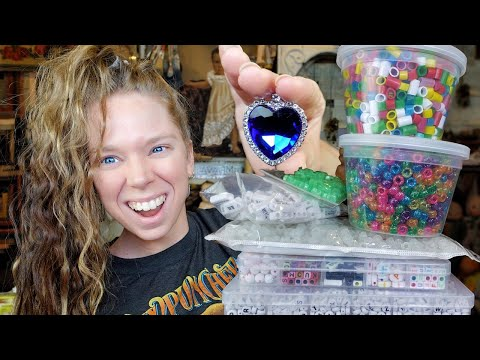Giant BEAD Haul/Jewelry Making Supplies!!