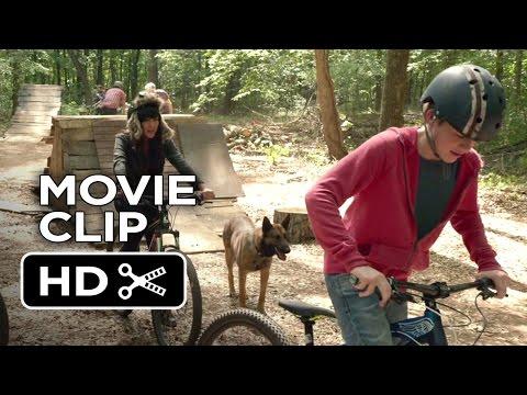 Max Movie CLIP - Bike Chase (2015) - Lauren Graham, Thomas Haden Church Movie HD