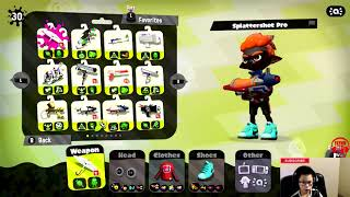 Episode 3 Splatoon 2 online multiplayer game play Nintendo Switch by Flynn Alert!