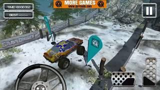GraveDigger 4X4 Hill Climb #2 | Monster Truck & Cars for Kids Game Play