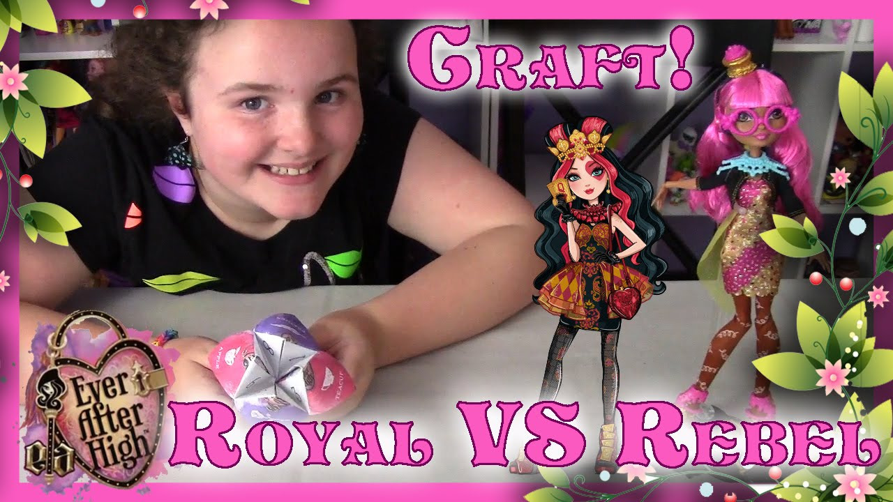 Ever After High Royal Vs Rebel Ginger Breadhouse Vs Lizzie Hearts