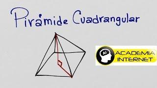 Arista lateral en una pirámide cuadrangular