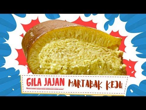 Martabak Keju Super Jumbo - Indonesian Street Food | Gila Jajan #16